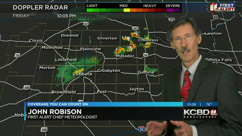 KCBD Weather at 10 for Friday, Sept. 17