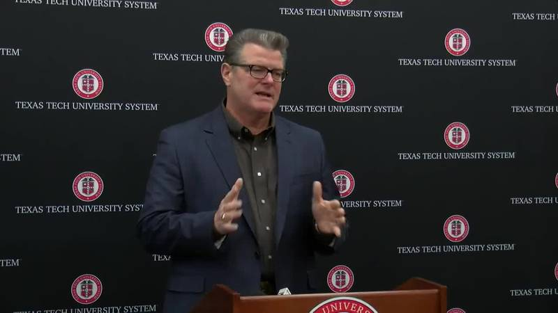 Dr. Tedd L. Mitchell, Chancellor, Texas Tech University System