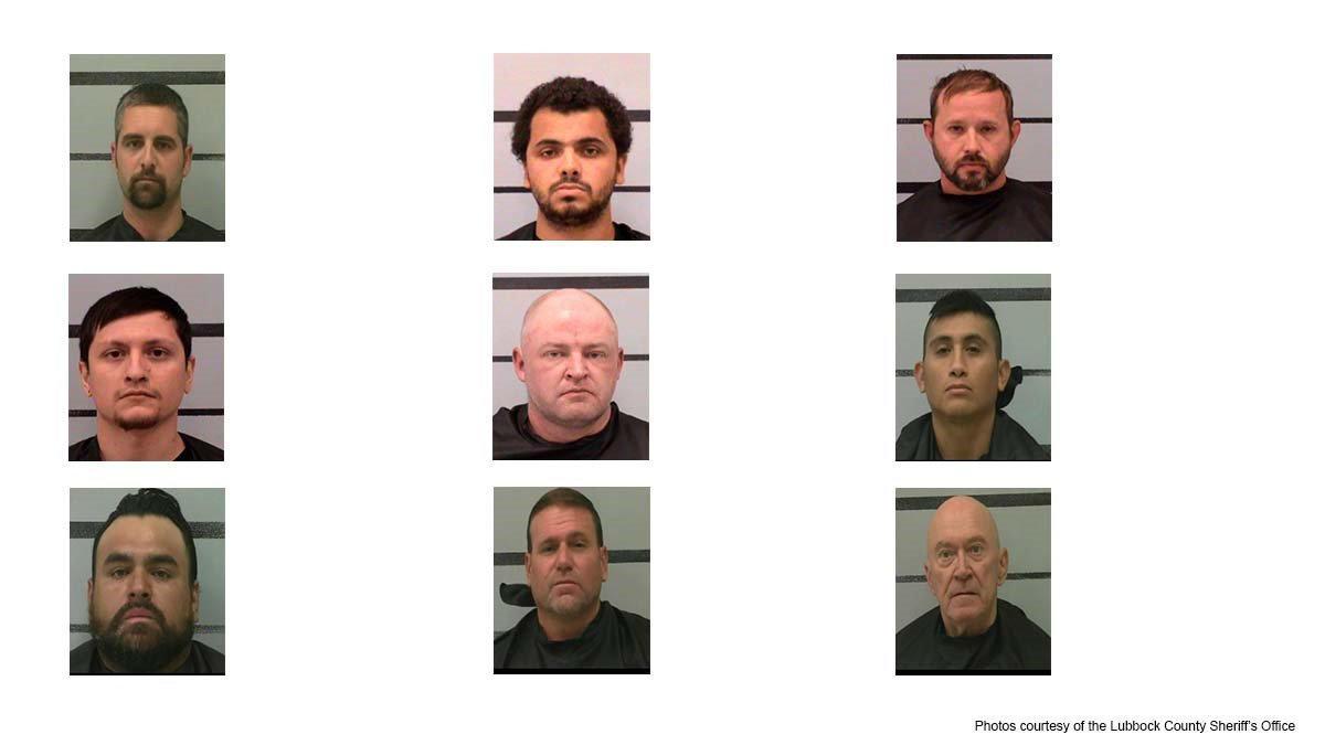 The Lubbock Police Department's Special Operations Division conducted a prostitution operation...