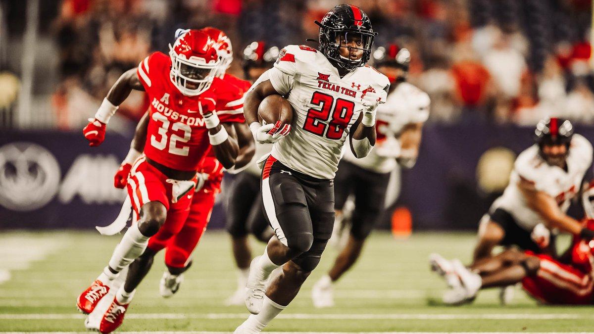 Texas Tech battling Houston in their season opener