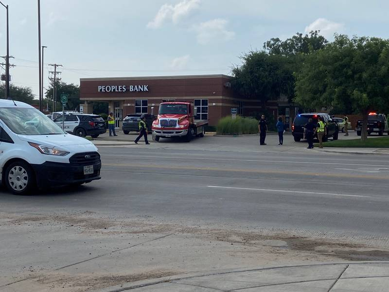 One person has died after a crash at Peoples Bank.