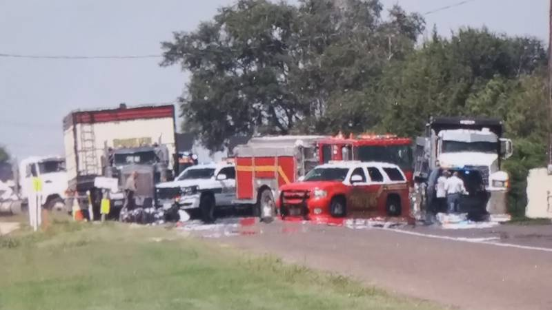 One person killed in a crash involving a motorcycle on North University Ave. and CR 600 on...