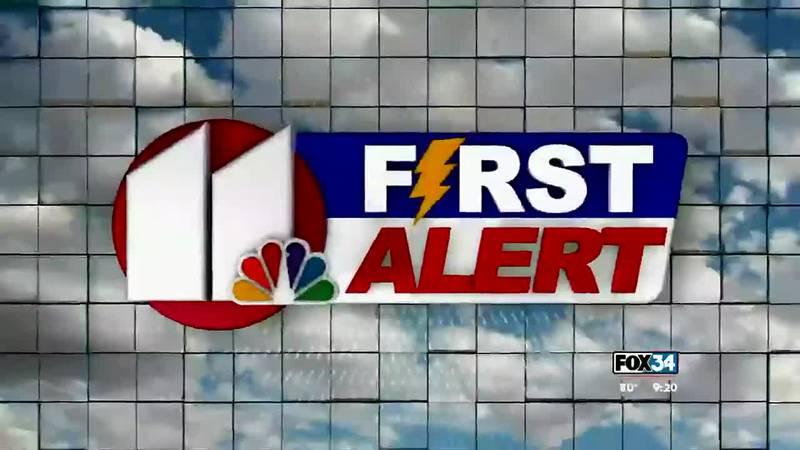 Fox 34 News at Nine forecast 09/16/2021
