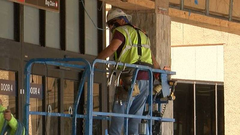 Lubbock airport upgrades are nearing completion.