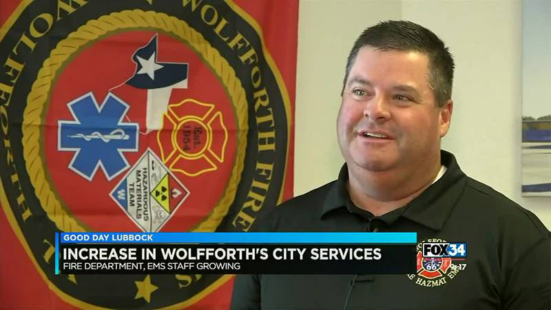 Our Town Spotlight: Wolfforth Fire Department