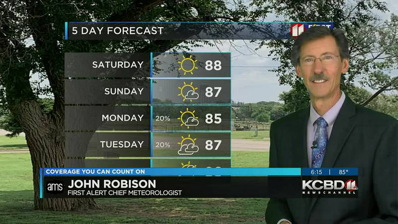 KCBD Weather at 6 for Friday, Sept. 24