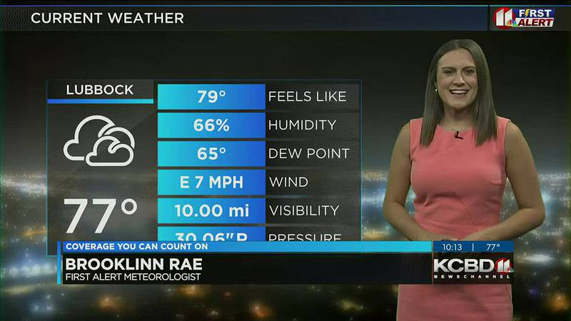 KCBD Weather at 10 for Saturday, Sept. 4