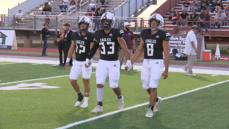 In their week seven matchup against the Stanton Buffaloes, the Roosevelt Eagles won 54-2 to...