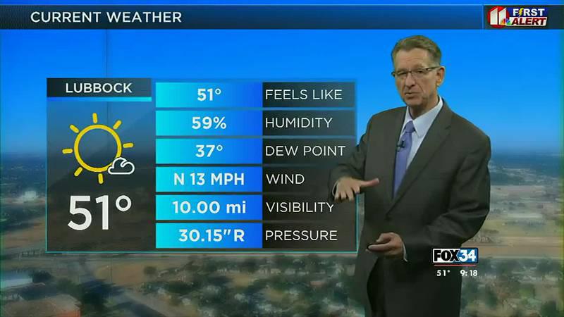 GDL Wednesday Morning Forecast - Oct. 20