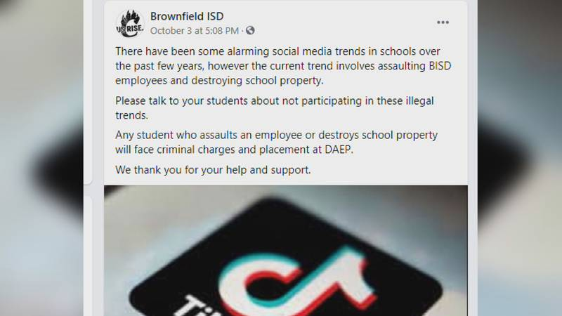 Viral TikTok challenges are wreaking havoc in some schools across the country, with students...
