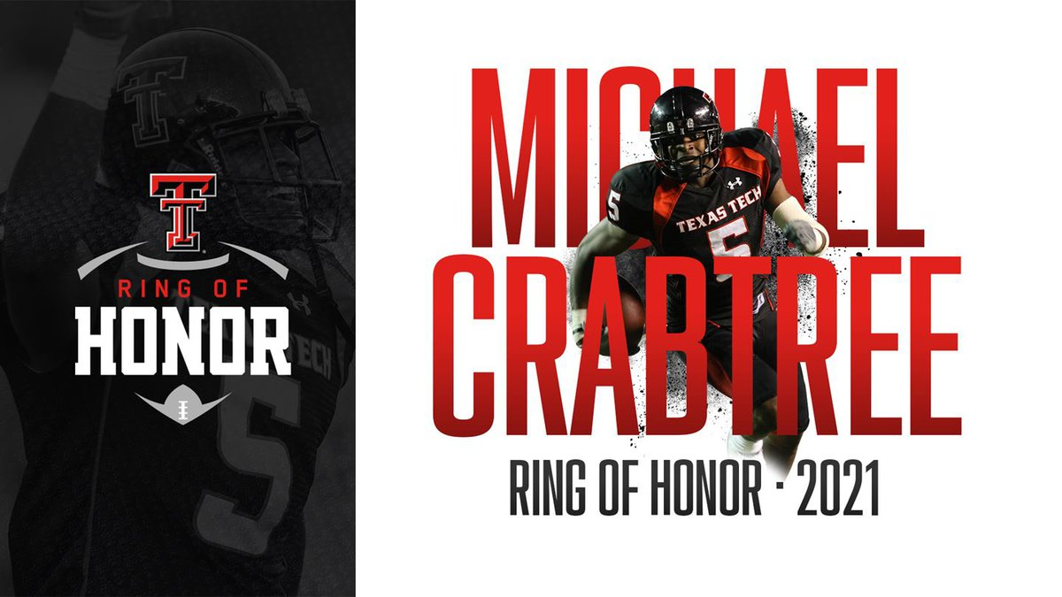 Crabtree will see his name adorning the same stadium he starred in during a storied Red Raider...