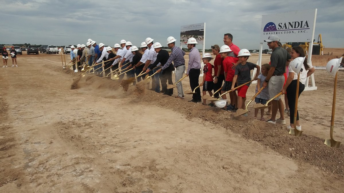 Lubbock-Cooper breaks ground on new high school at Quaker Ave. and Woodrow Rd.