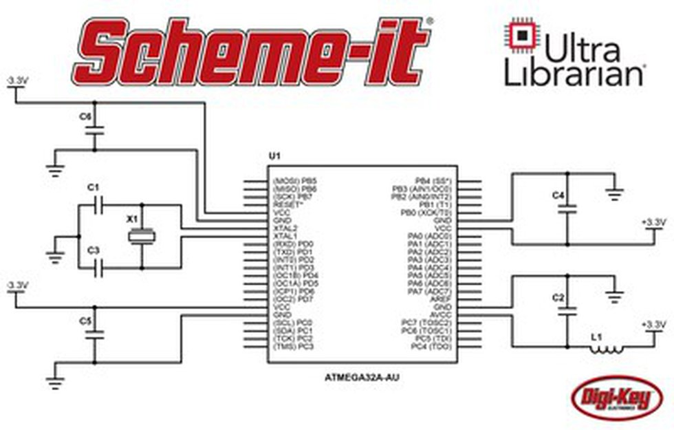 The Scheme-it tool from Digi-Key Electronics now offers a symbol integration with Ultra...