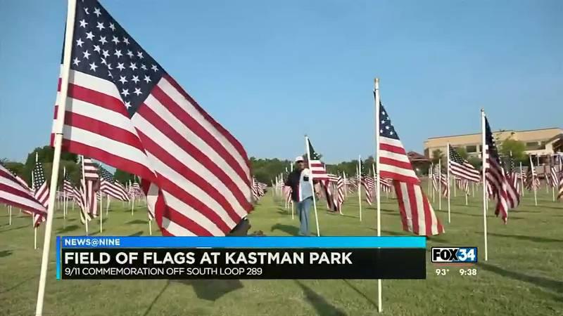 Field of Flags at Katmans Park