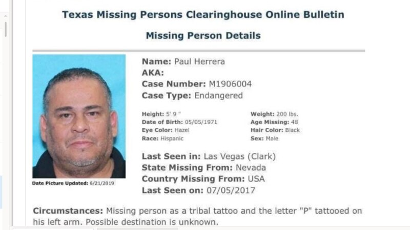 Financial inactivity on Paul Herrera's accounts led detectives to reopen his case as a missing...