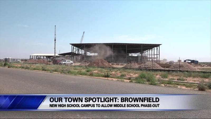 New Brownfield High School campus to allow middle school phase-out