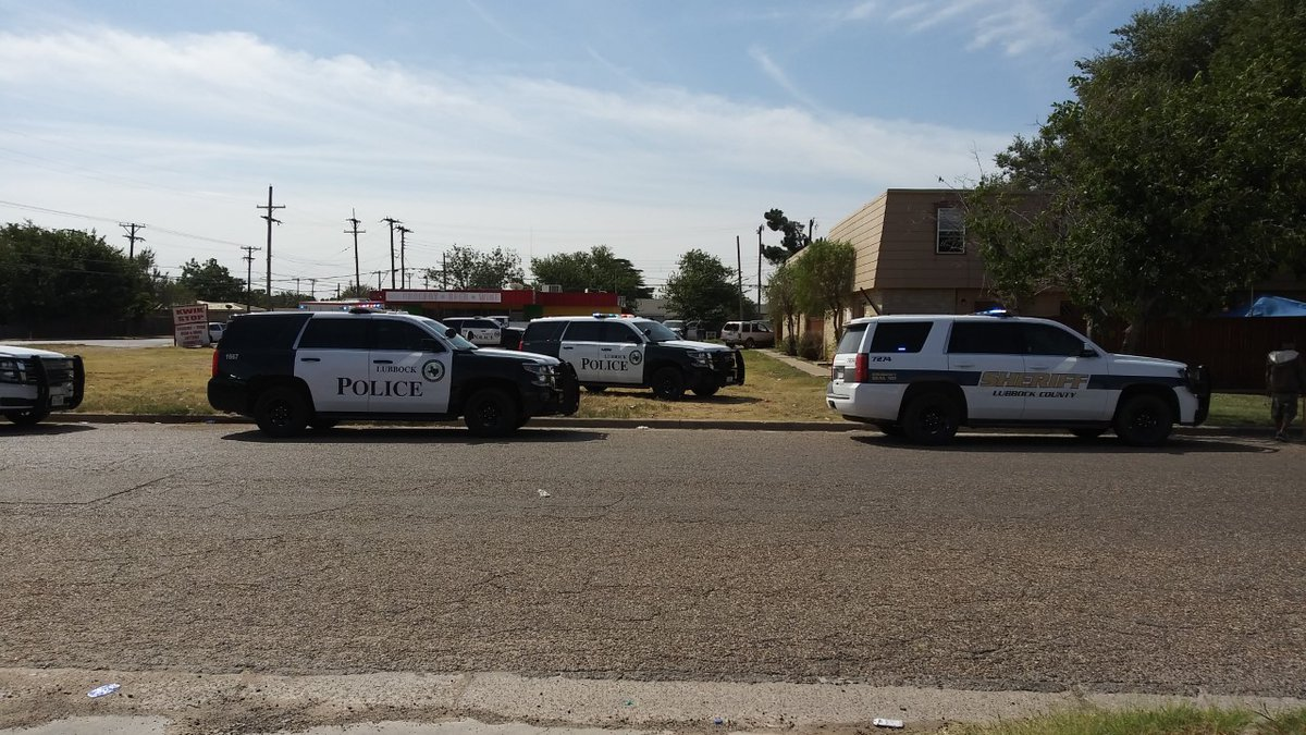A suspect was caught by a police K-9 after a foot chase in South Lubbock.