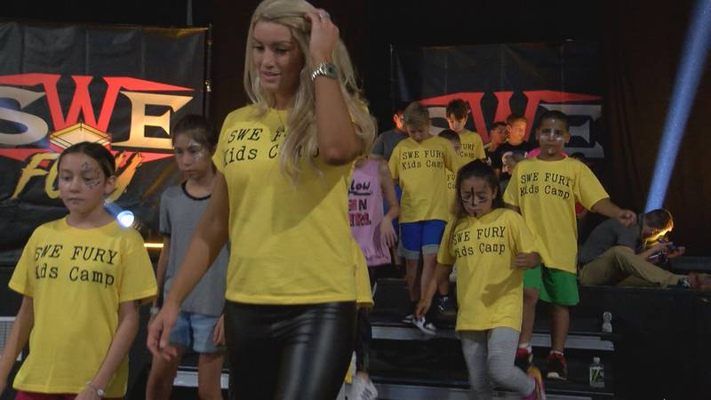 After growing up around professional wrestling, Lacey Von Erich wanted to create an opportunity...
