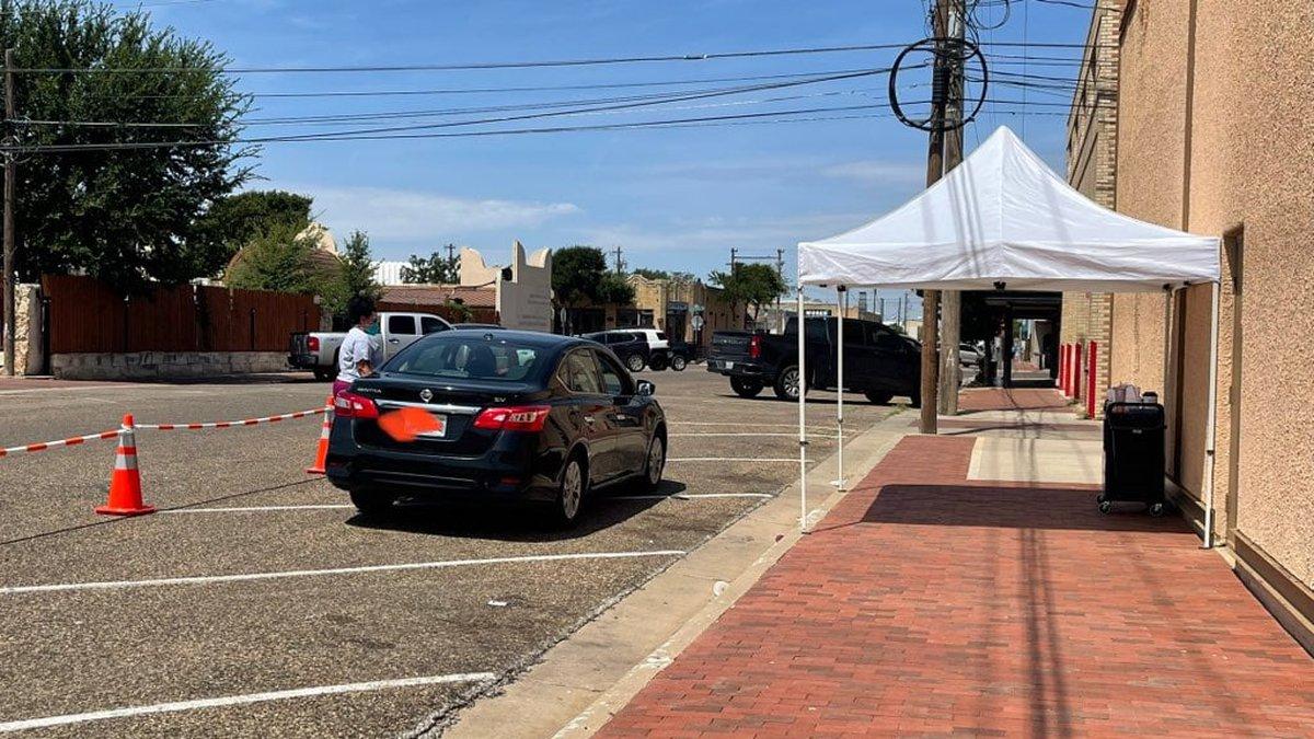 City of Lubbock Drive-Thru COVID-19 testing
