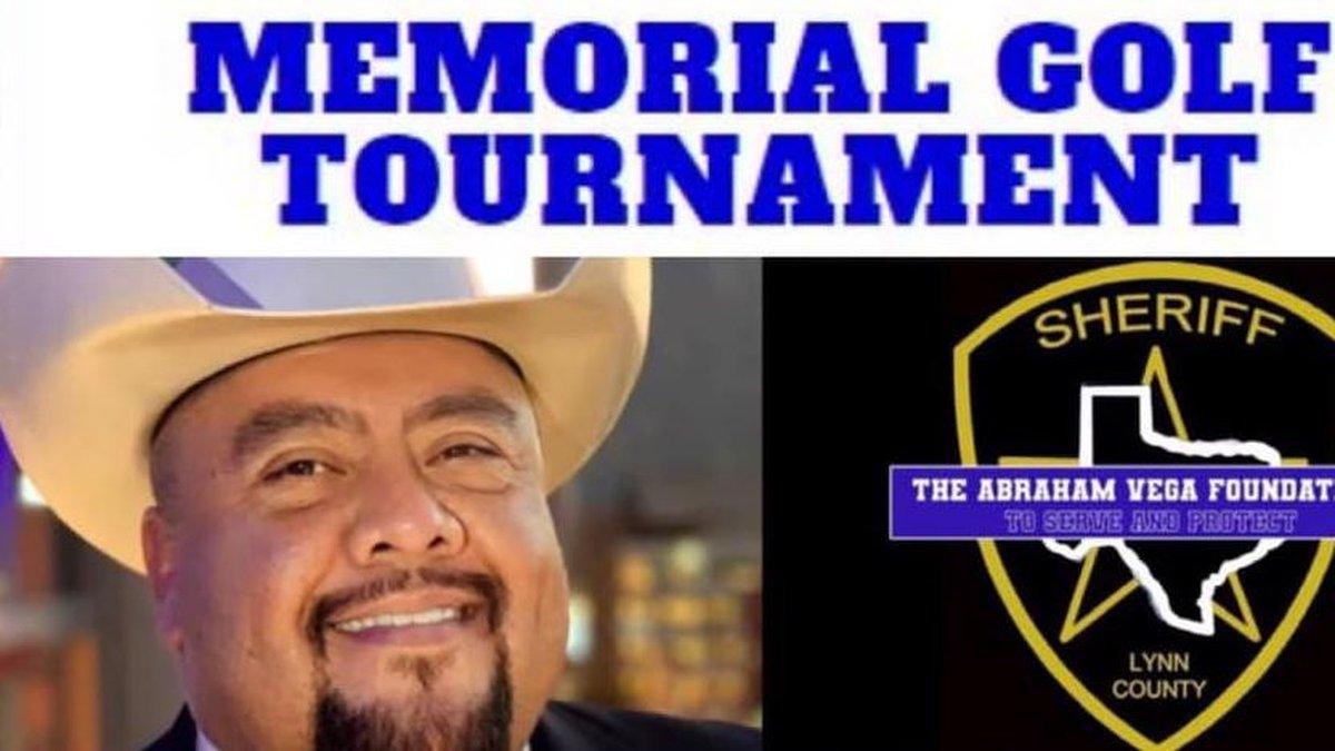 Lynn County Sheriff Abraham Vega memorial golf tournament