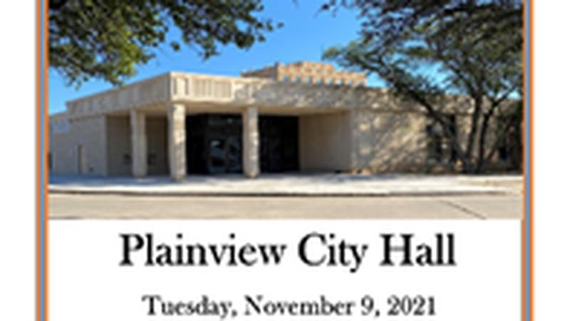 Plainview City Hall ribbon cutting
