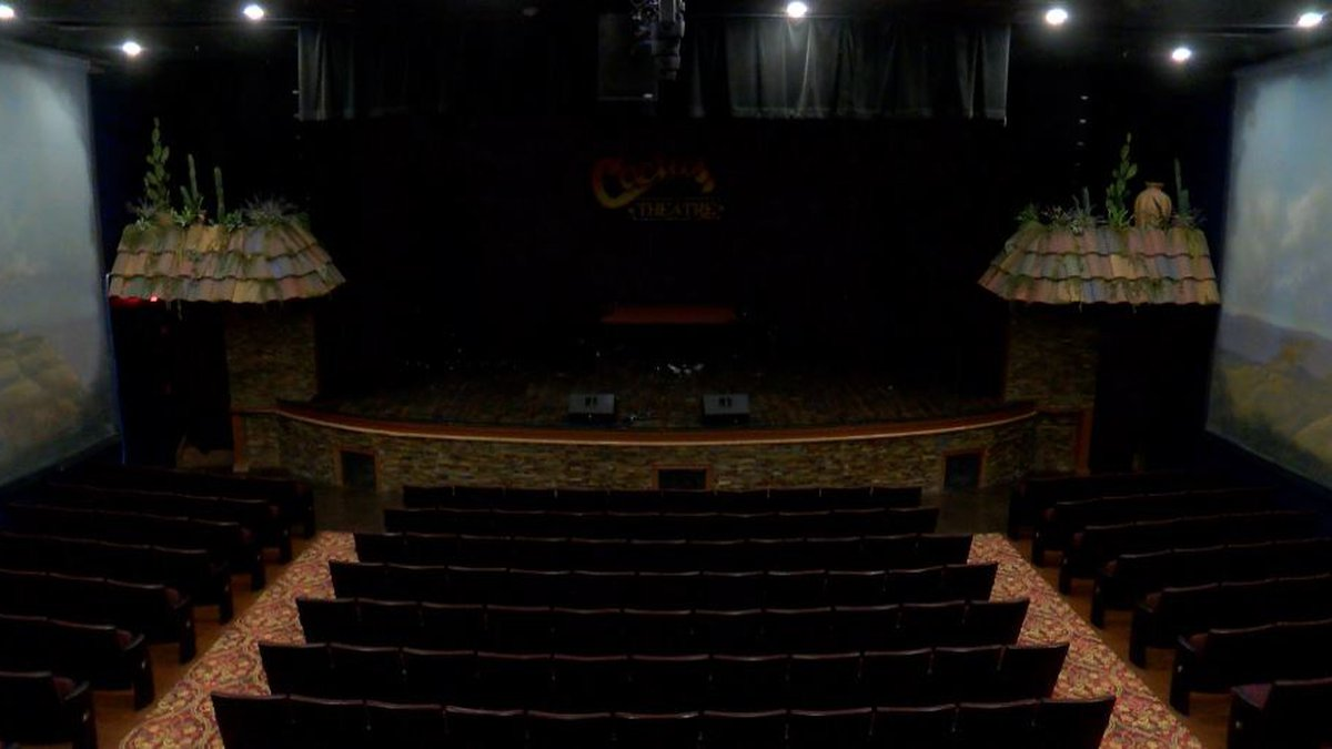 The Cactus Theater reopens with upgrades and renovations.