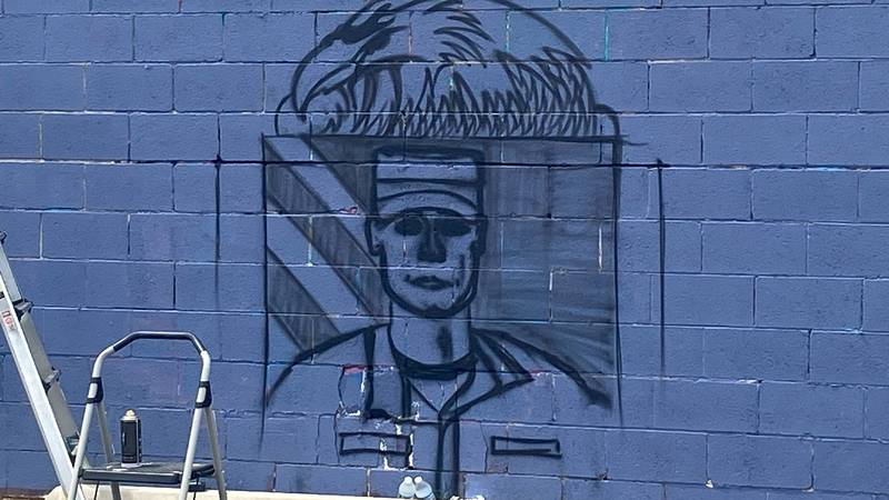 Downtown mural to honor Lubbock fallen soldier