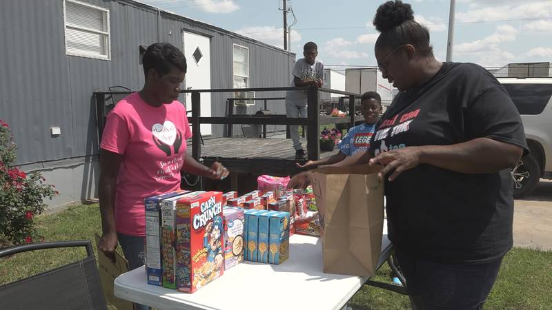 After getting help in the middle of her struggle, Demetria Ervine wanted to do the same for...