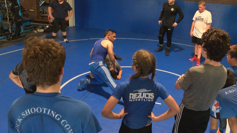 Rezults Wrestling Academy welcomes kids from as young as four all the way through their high...