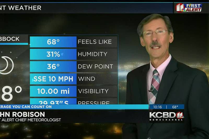 KCBD Weather at 10 for Monday, Oct. 25