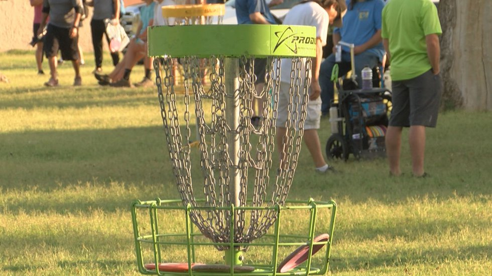 The disk golf community met up this weekend to compete in the 2021 Big Arms on the Brazos...