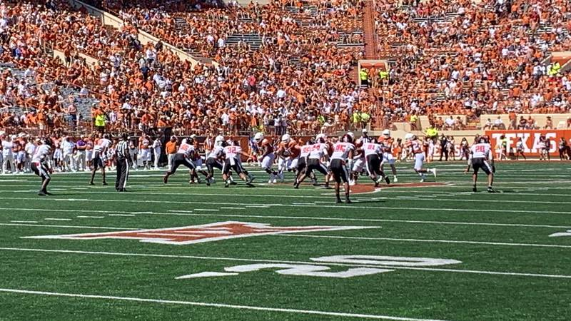 The Texas Tech Red Raiders were amped up for an opportunity to start the season 4-0 for their...